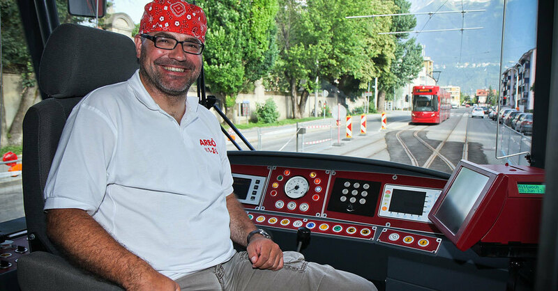 Straßenbahn, Weltrekord, Freiburg, © Andreas W. Dick