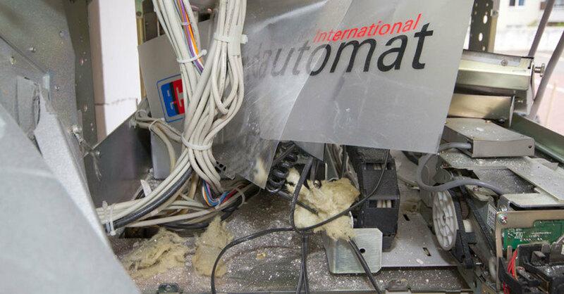 Geldautomat, Sprengung, Explosion, © Matthias Bein - dpa (Symbolbild)