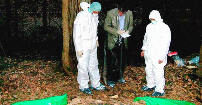 Pursche, Mord, Spurensicherung, © Archivfoto (2003) - Polizeipräsidium Freiburg