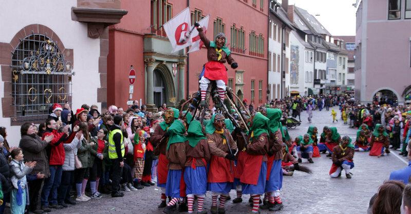 Fasnet, Rosenmontag, Freiburg, 2019, © baden.fm
