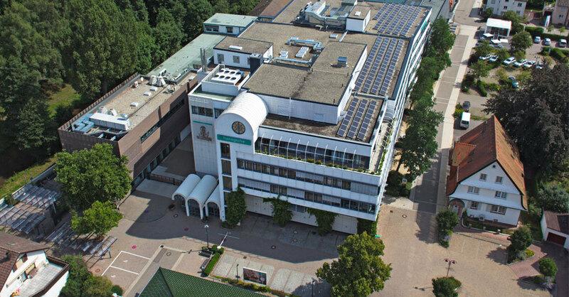 Hansgrohe, Schiltach, Werk, Industrie, © Hansgrohe SE / Drohnenflug Henn