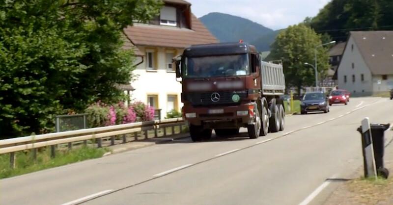 Glottertal, Simonswald, Lastwagen, LKW, © baden.fm