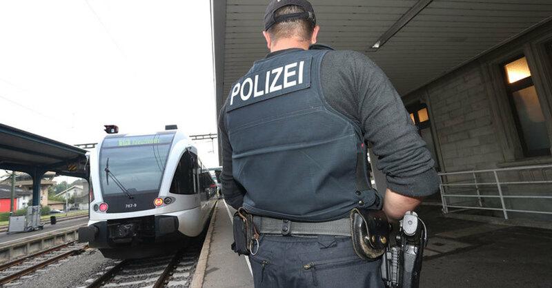 Bundespolizei, Bahnhof, Kontrolle, © Karl-Josef Hildenbrand - dpa (Symbolbild)