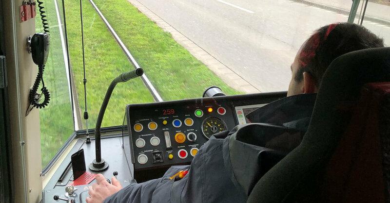 Tram Von Kehl Nach Straßburg Hat Im Ersten Betriebsjahr Drei
