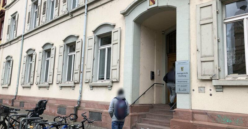 Amtsgericht Freiburg, Holzmarkt, © baden.fm (Symbolbild)