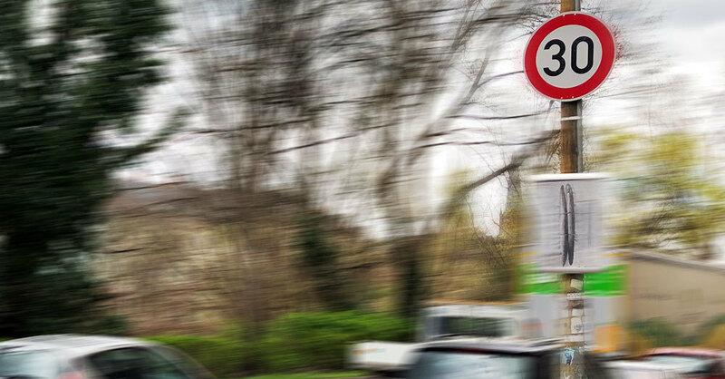 B31, Tempolimit, Verkehrsschild, Tempo 30, © baden.fm (Symbolbild)