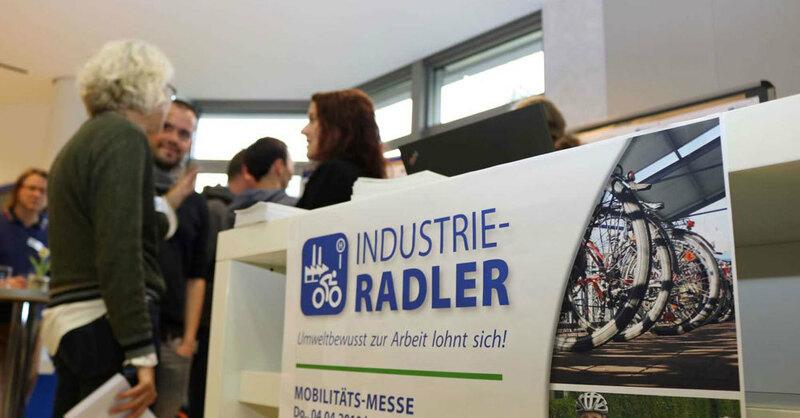 Industrieradler, Messe, Mobilität, © badenova AG & Co. KG