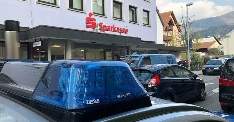 Banküberfall, Sparkasse, Waldkirch, © baden.fm