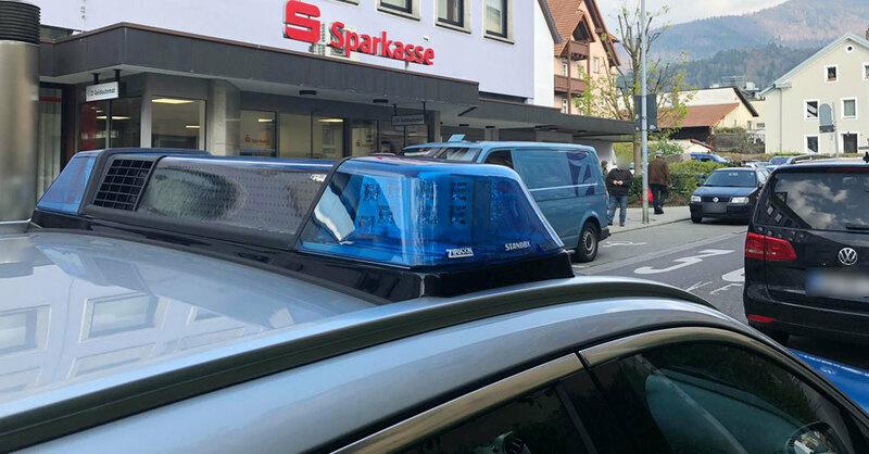 Sparkasse, Waldkirch, Bank, Überfall, © baden.fm