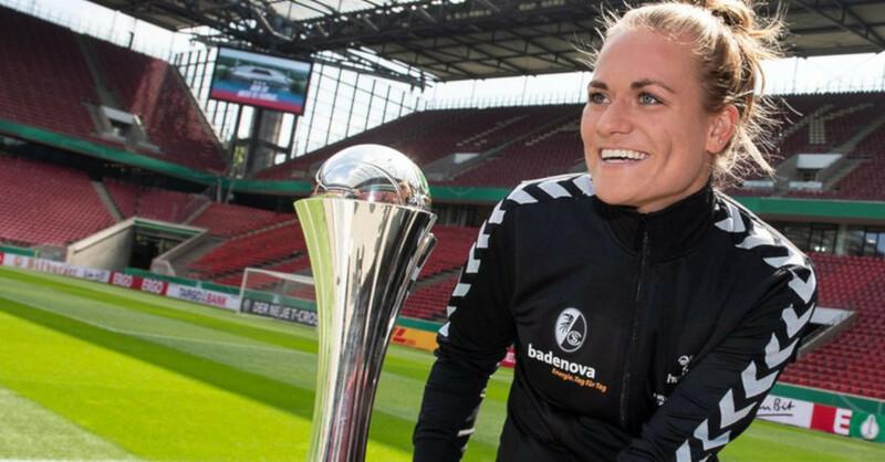 Clara Schöne, SC Freiburg, Frauen, DFB Pokal, © dpa