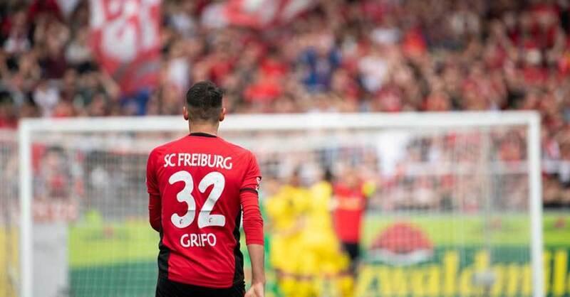 Vincenzo Grifo, SC Freiburg, © Sebastian Gollnow - dpa (Symbolbild)