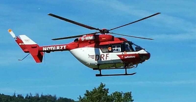 Rettungshubschrauber, Luftrettung, Notarzt, © baden.fm (Symbolbild