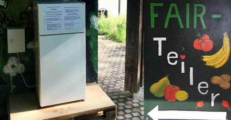 Fairteiler, Kühlschrank, Mach Blau, Denzlingen, © Stadt Denzlingen