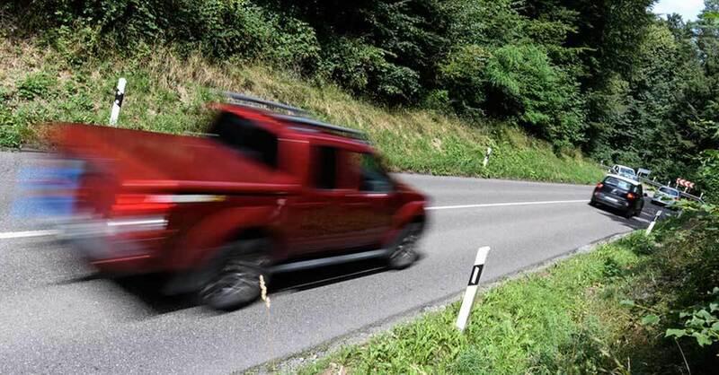 Auto, Verkehr, Schwarzwald, Straße, Landstraße, © Edith Geuppert - dpa (Symbolbild)
