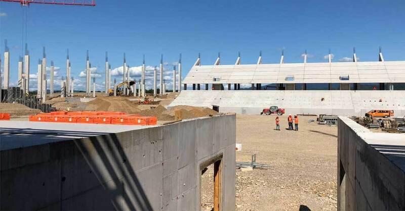 SC Freiburg, Stadion, Wolfswinkel, Neubau, Baustelle, © baden.fm