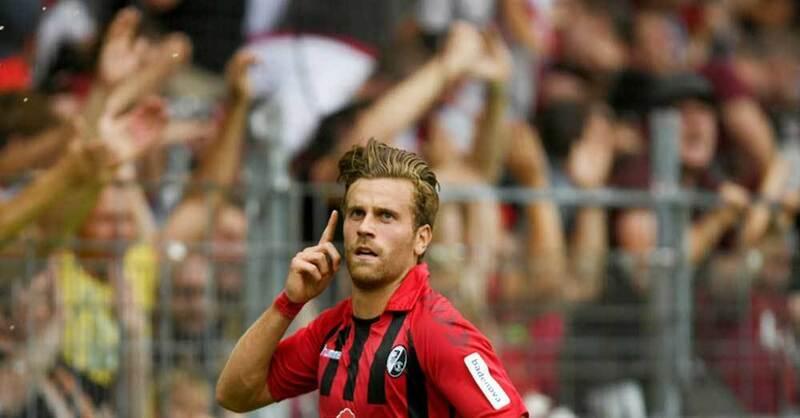 Lucas Höler, SC Freiburg, Spieler, Fußball, © Patrick Seeger - dpa