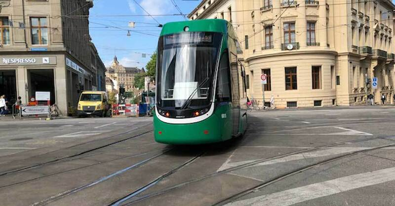 Tram, Straßenbahn, Basel, BVB, © baden.fm (Symbolbild)