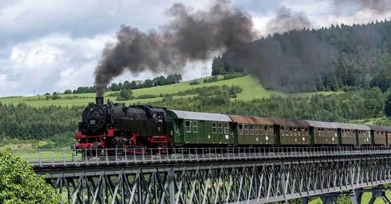 Eisenbahn, Dampflok, Sauschwänzlebahn, Kohle, © Patrick Seeger - dpa (Symbolbild)