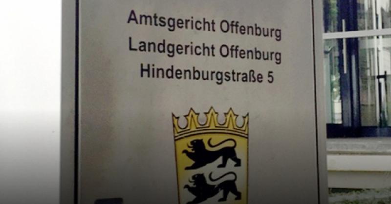 Amtsgericht, Landgericht, Offenburg, Justiz, © Jürgen Ruf - dpa