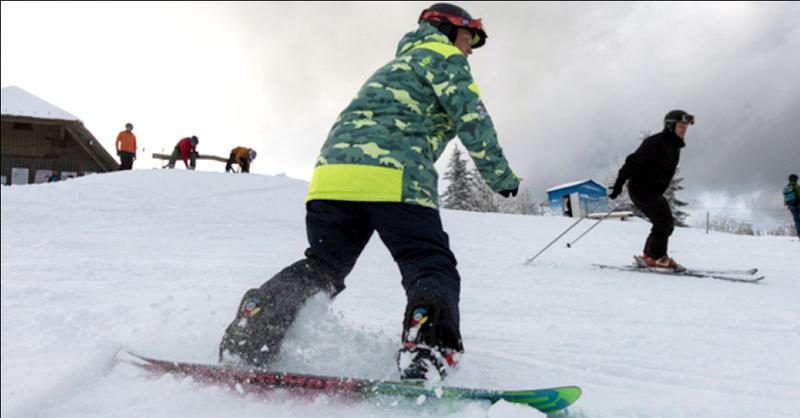 Kandel, Wintersport, Snowboard, © Patrick Seeger, dpa