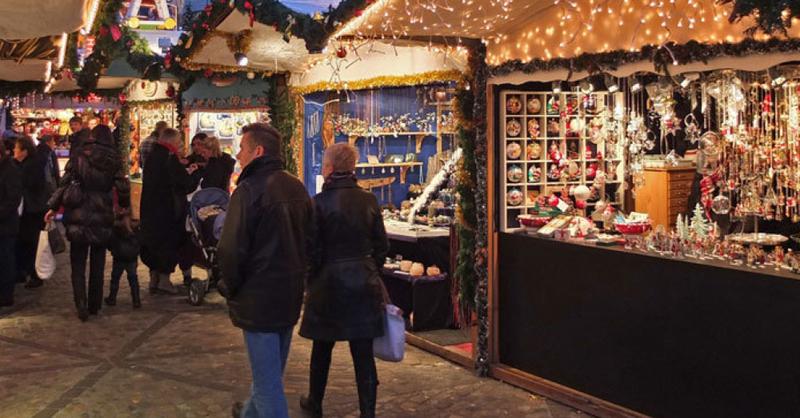 Weihnachtsmarkt, Basel, © Juri Weiss - Staatskanzlei Basel-Stadt