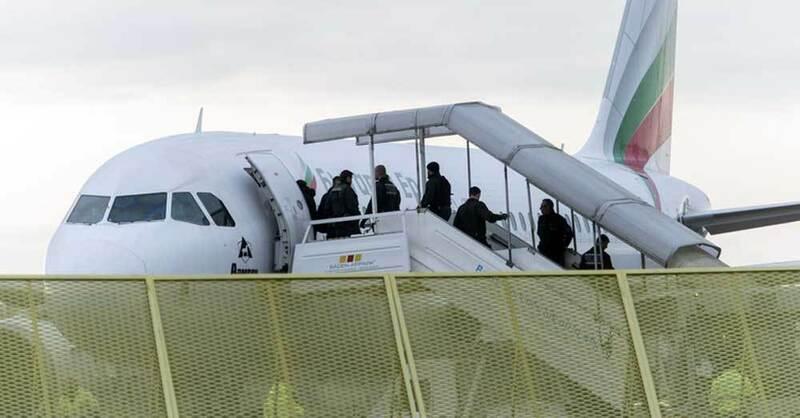 Flugzeug, BadenAirpark, Abschiebung, © Daniel Maurer - dpa (Symbolbild)