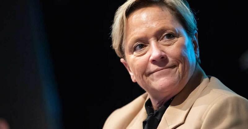 Kultusministerin, Susanne Eisenmann, CDU, Spitzenkandidatin, Landesschülerkongress, © Tom Weller - dpa