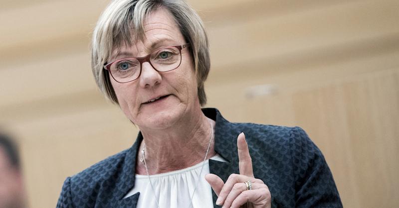Edith Sitzmann, Grüne, Finanzministerin, Landtag, Baden-Württemberg, © Tom Weller - dpa