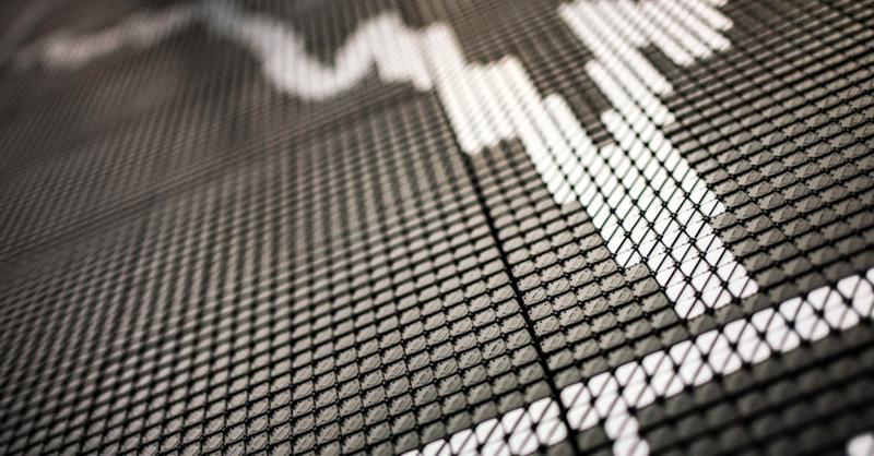 Aktien, Börsenkurs, DAX, Talfahrt, Wirtschaftskrise, © Frank Rumpenhorst - dpa (Symbolbild)