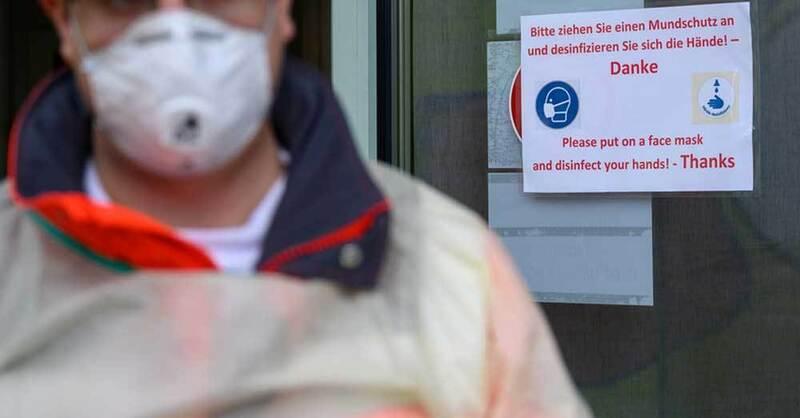 Coronavirus, Stuttgart, DRK, Krankenhaus, © Sebastian Gollnow - dpa (Symbolbild)