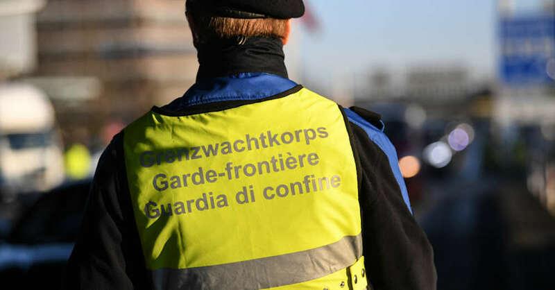 Grenzwacht, Schweiz, Basel, Weil am Rhein, © Patrick Seeger - dpa