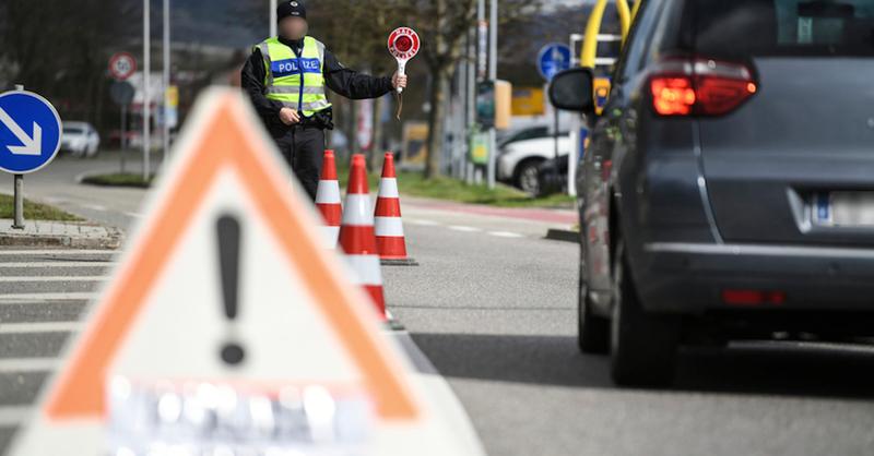 Breisach, Grenzübergang, Grenze, Elsass, Frankreich, Polizeikontrolle, © Patrick Seeger - dpa (Symbolbild)
