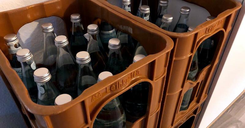 Getränke, Sprudelkiste, Leergut, © baden.fm (Symbolbild)