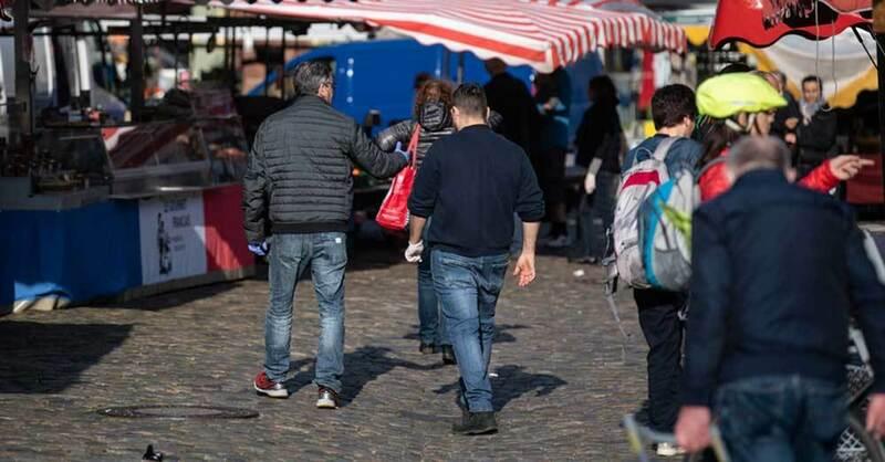 Münstermarkt, Freiburg, Marktstand, © Patrick Seeger - dpa (Symbolbild)
