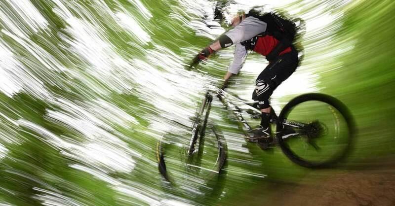 Mountainbike, Fahrradfahren, Canadian Trail, Freiburg, © dpa (Symbolbild)