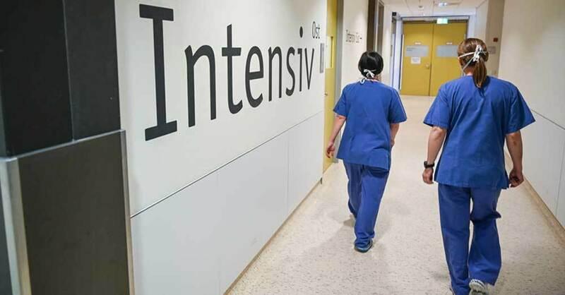 Intensivstation, Bundeswehrkrankenhaus Ulm, Klinik, © Felix Kästle - dpa (Symbolbild)