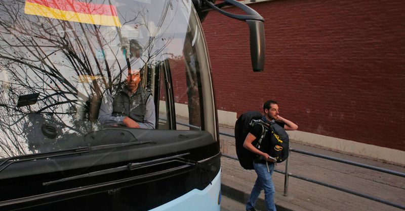Reisebus, Nepal, Deutschland, Tourismus, Backpacker, © Niranjan Shrestha - AP / dpa (Symbolbild)