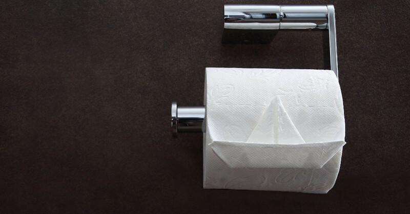 Toilettenpapier, Klopapier, Rolle, WC, © Pixabay (Symbolbild)