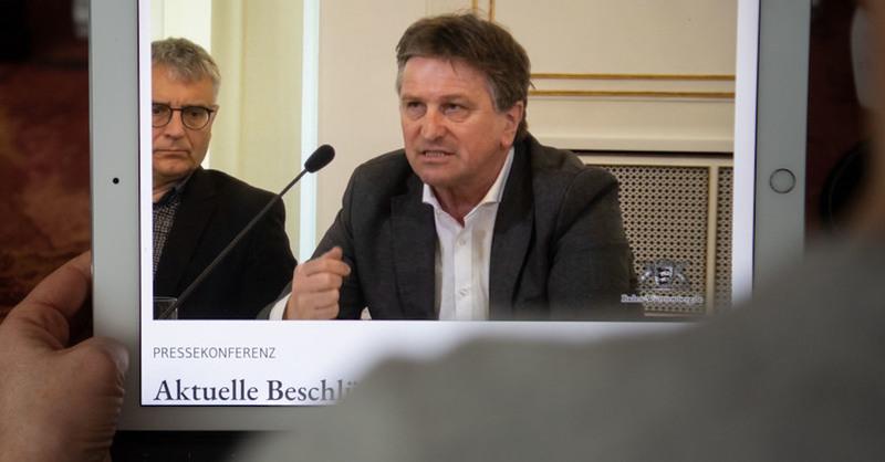 Sozialminister, Manne Lucha, Grüne, Baden-Württemberg, © Marijan Murat - dpa (Symbolbild)