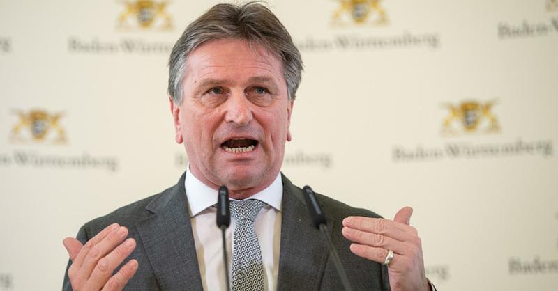 Manne Lucha, Gesundheitsminister, Sozialminister, Baden-Württemberg, © Sebastian Gollnow - dpa (Archivbild)