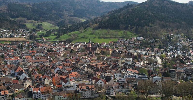 Waldkirch, Kandel, Stadt, © Pixabay (Symbolbild)
