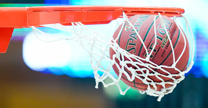 Basketball, Korb, © Uwe Anspach - dpa (Symbolbild)