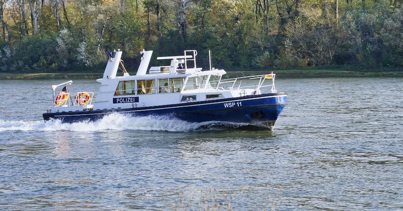 Wasserschutzpolizei, Rhein, Fluss, Boot, Schiff, © Pixabay (Symbolbild)