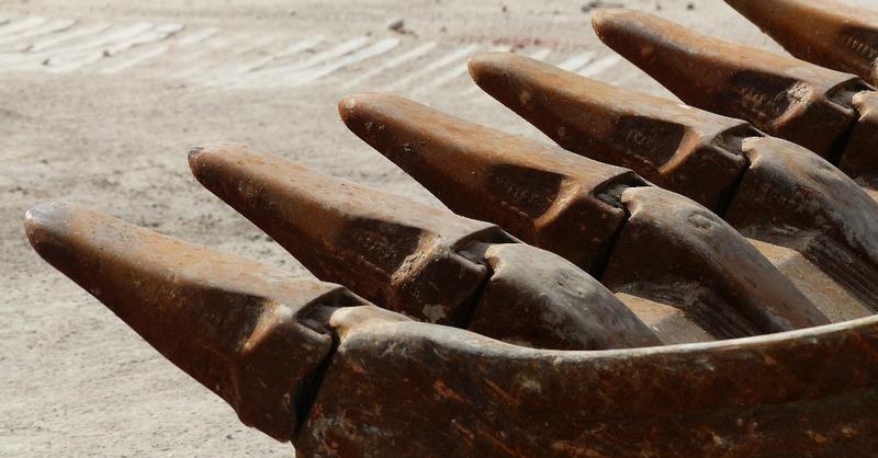Baggerschaufel, Bagger, Baustelle, Bauarbeiten, © Pixabay (Symbolbild)