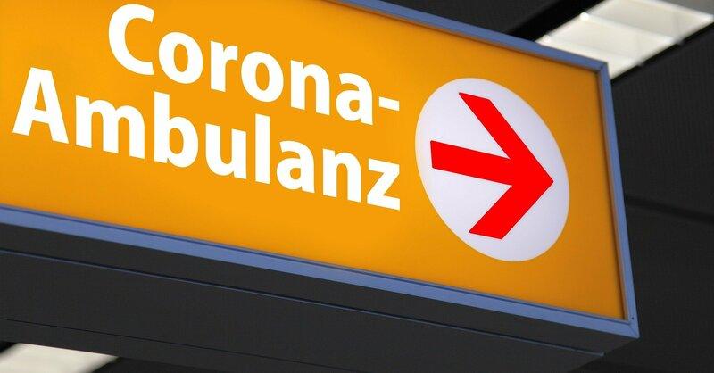Coronavirus, Coronaambulanz, Covid-19, Abstrichzentrum, Krankenhaus, Klinik, © Pixabay (Symbolbild)