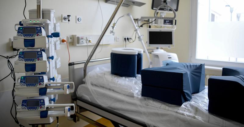 Intensivstation, Krankenhaus, Klinik, Coronavirus, © Britta Pedersen - dpa (Archivbild)