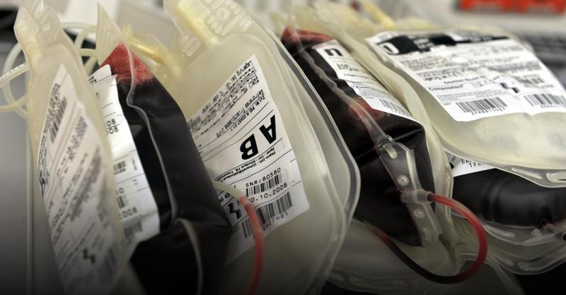 Blut, Konserve, Blutspende, © Patrick Seeger - dpa