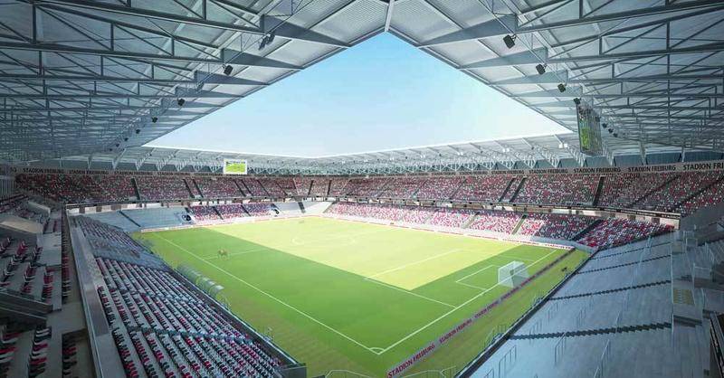SC Freiburg, Stadion, Visualisierung, © HPP / SC Freiburg