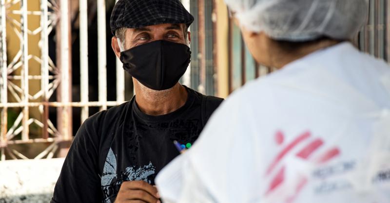 SICK AG, Spende, Ärzte ohne Grenzen, © ©Mariana Abdalla/Ärzte ohne Grenzen