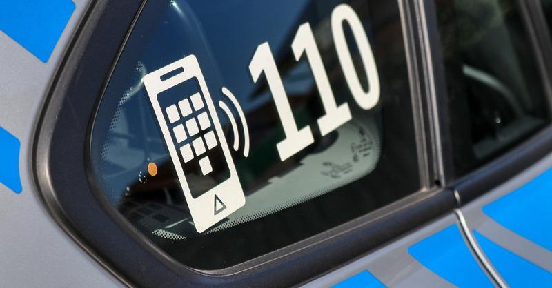 110, Notruf, Polizei, © Pixabay (Symbolbild)
